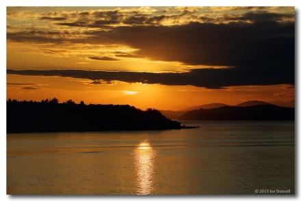 Sunset Over the Elliot Bay